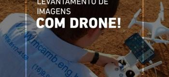 Aerolevantamento com drone